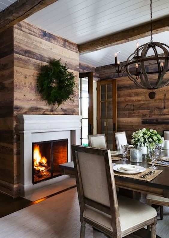 ANTIQUE HEART PINE RUSTIC PANELING