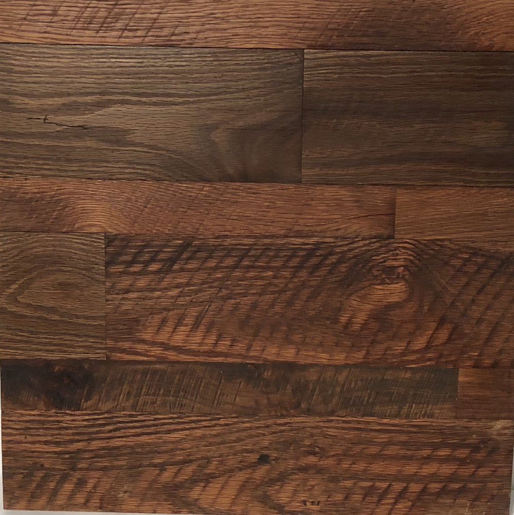 ANTIQUE AMERICAN OAK RUSTIC