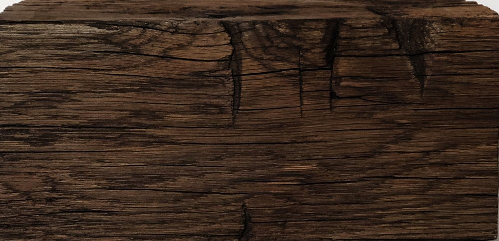 ANtique hand hewn beam texture -color : DARK BROWN
