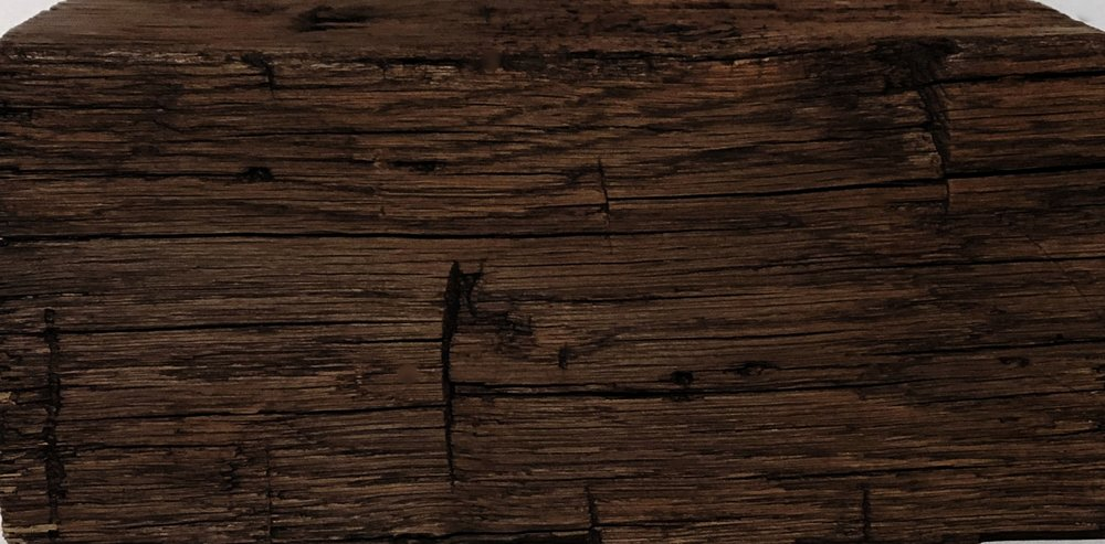 antique hand hewn beam texture - color: WALNUT