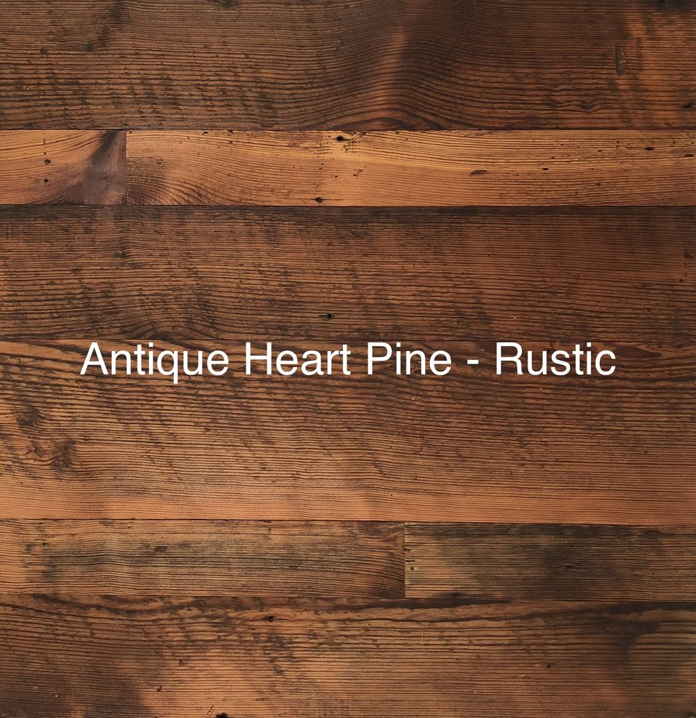 Antique Heart Pine Rustic -