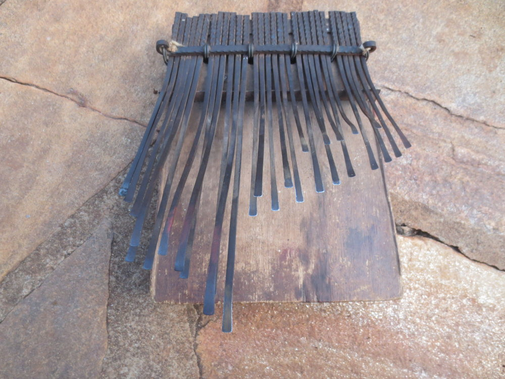 Michael Bourdillon's hera mbira, made by Josam Nyamukuvhengu