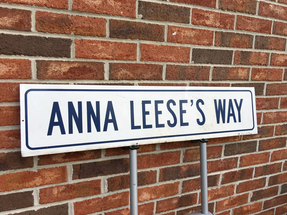 "PERSONALIZED STREET SIGNS FOR CARPOOL LINE OR BACK PATH   Name the Carpool Line or Back Path! Have your own customized street sign installed in the car line upfront or back path in back for the entire school year. Pick your own street name, like ""Wendy's Way or Penny's Path"". Two separate winners.  DONOR: Administration VALUE: Priceless"