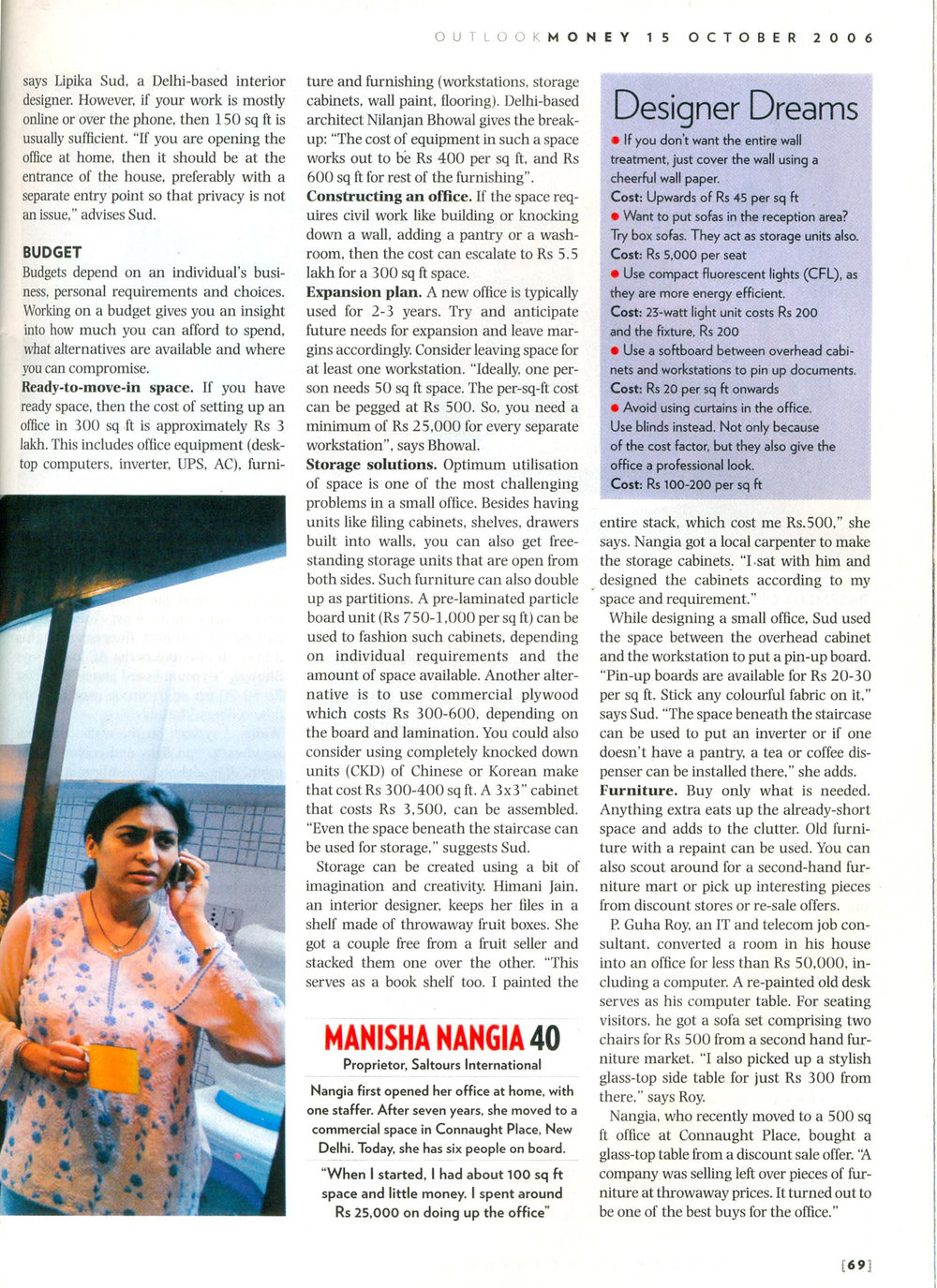 Outlook Money October 2006 p2