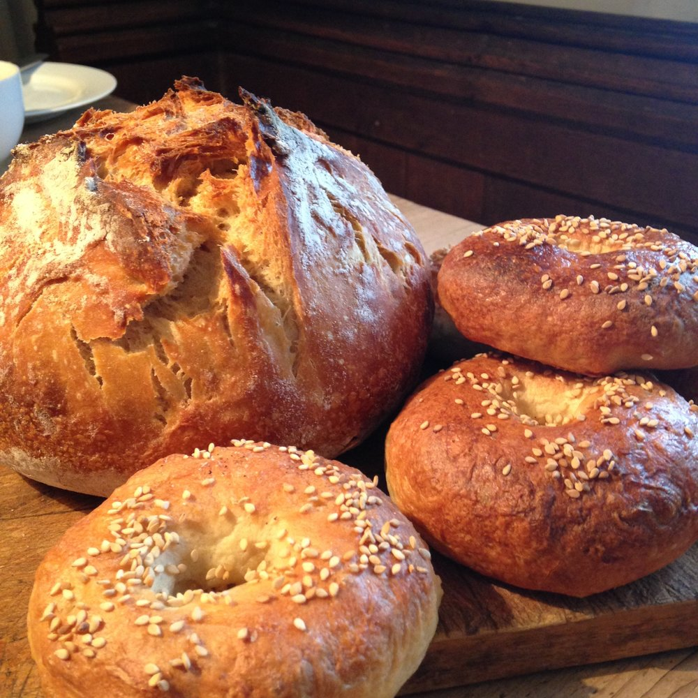 Home made organic breads at Jericho luxury bed and breakfast