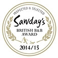 Sawday's most praised breakfast award