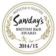 Sawday's most praised breakfast award