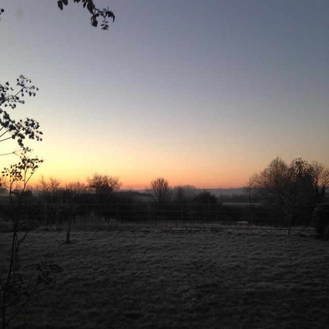 Frosty mornings in Somerset are special - have a winter break at Jericho #bedandbreakfast #stayatjericho #winter #somerset #luxury #style