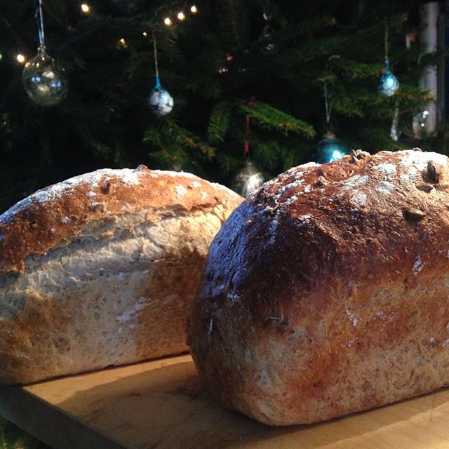 Lovely Christmas loaves#stayatjericho #bedandbreakfast #mells #somerset #organic #bread #luxury#homemade
