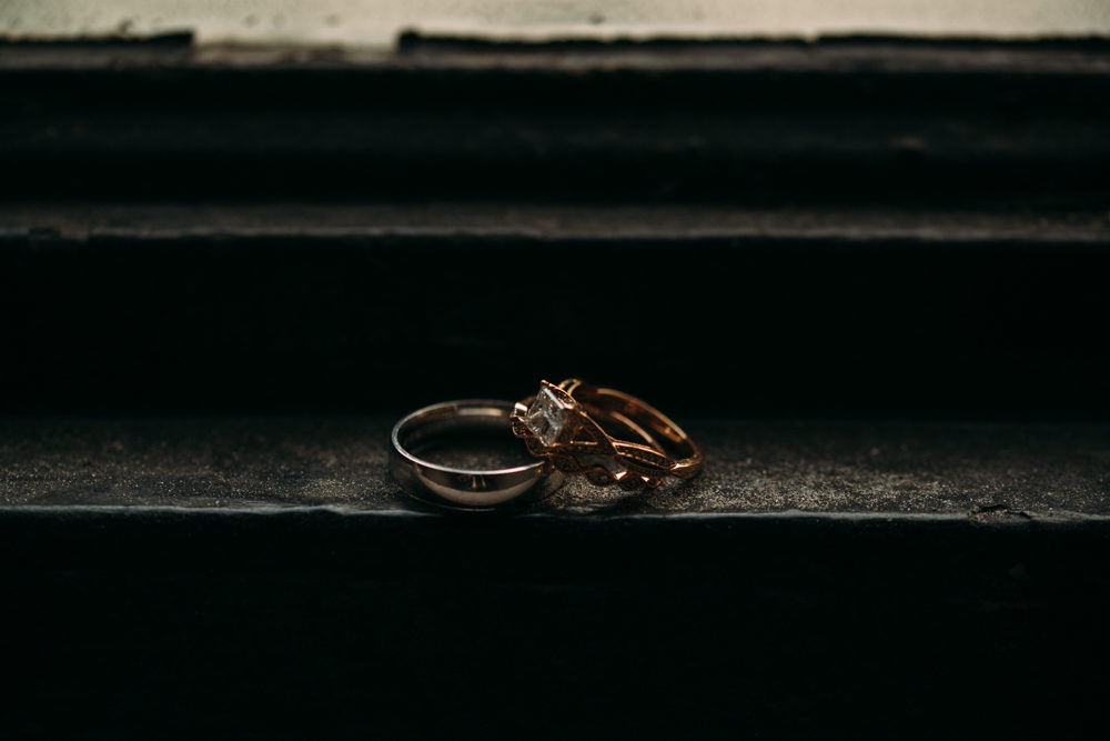 Toronto Wedding ring detail at STORYS Building by Sounds Like Yellow Photography, Toronto Wedding Photographer, soundslikeyellowphotography.com