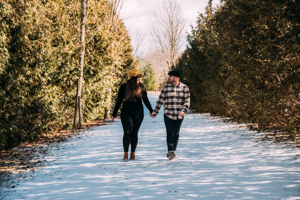 Hamilton Merry Farms Engagement Session with Sounds Like Yellow Photography