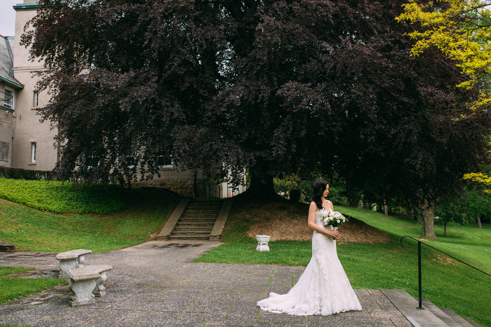 Ancaster Mill Wedding with Sounds like yellow photography at Mount Mary- first look