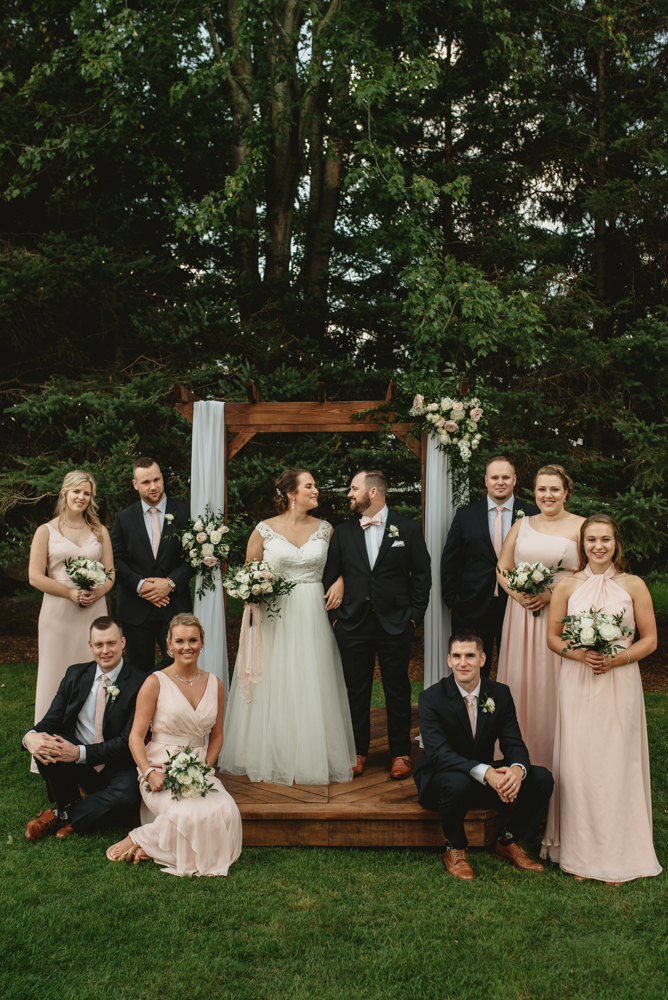 Ancaster backyard wedding photography with soundslikeyellowphotography