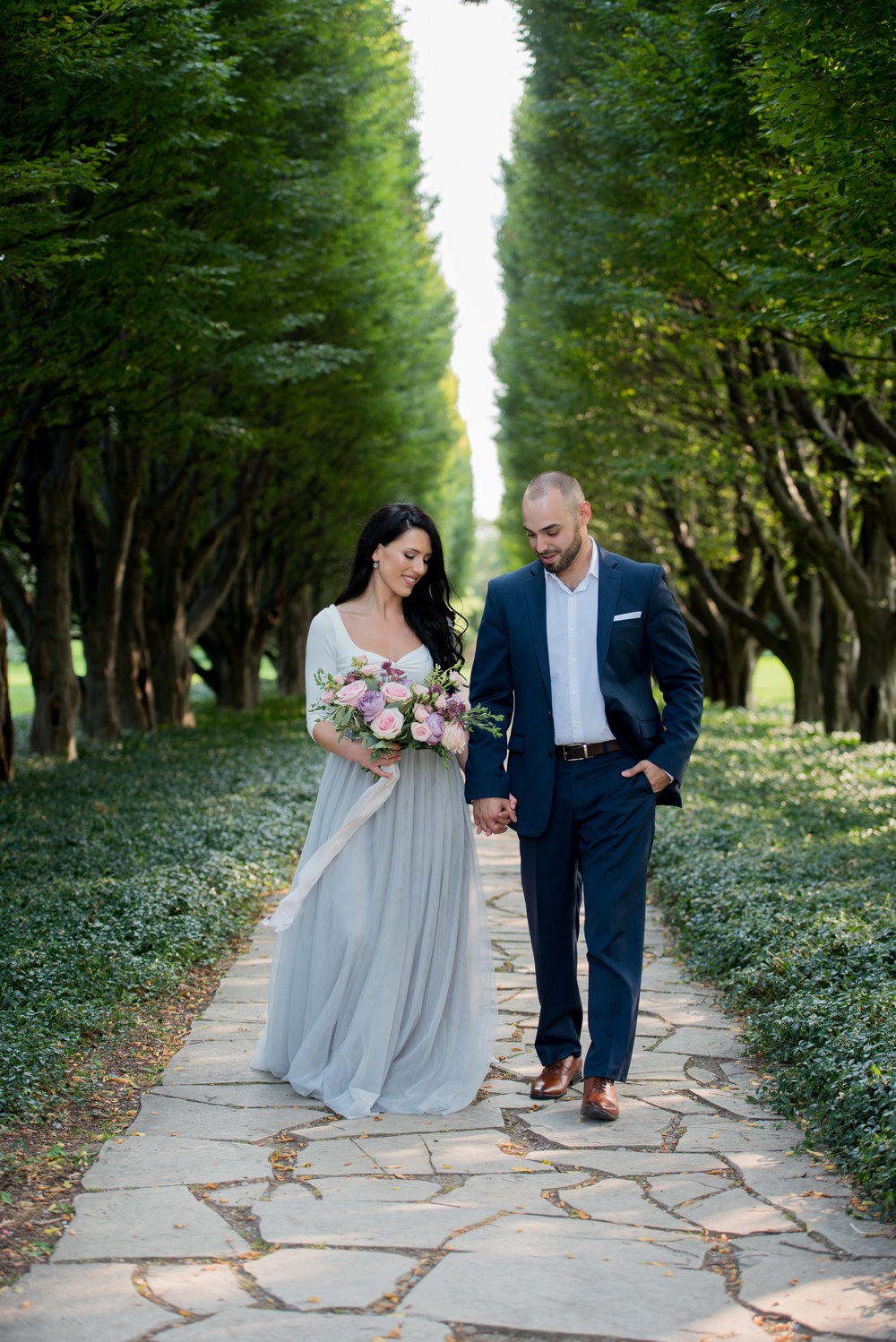 Botanical Garden Engagement Session Soundslikeyellowphotography