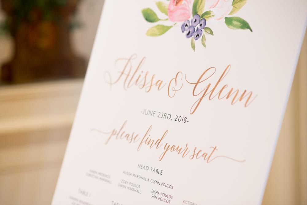 Paletta Mansion wedding photography with soundslikeyellowphotography wedding signage