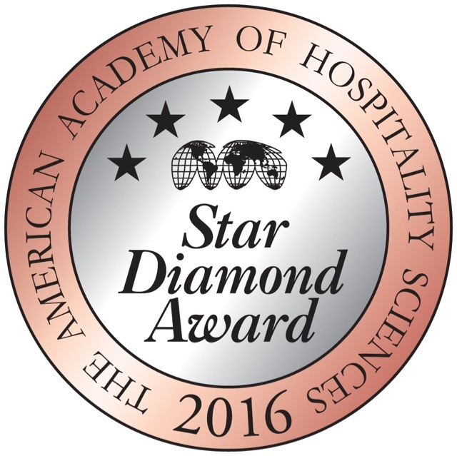 Giumarello's American Academy of Hospitality Sciences 4 Star Diamond Award 2016