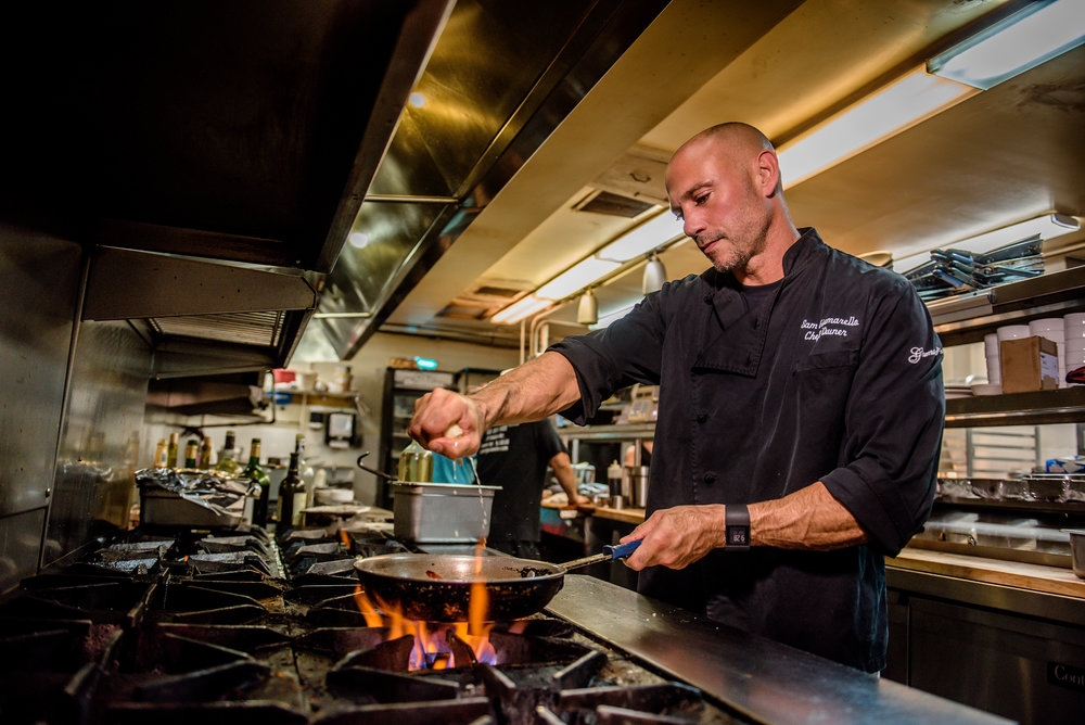 Owner and Chef, Sam Giumarello