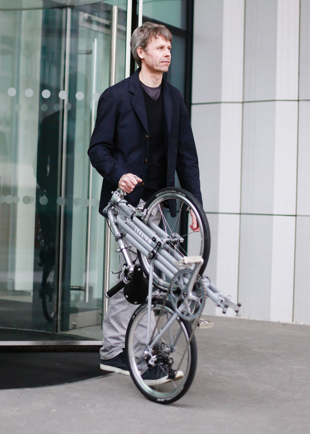 Whippet Bicycle - British made folding bike