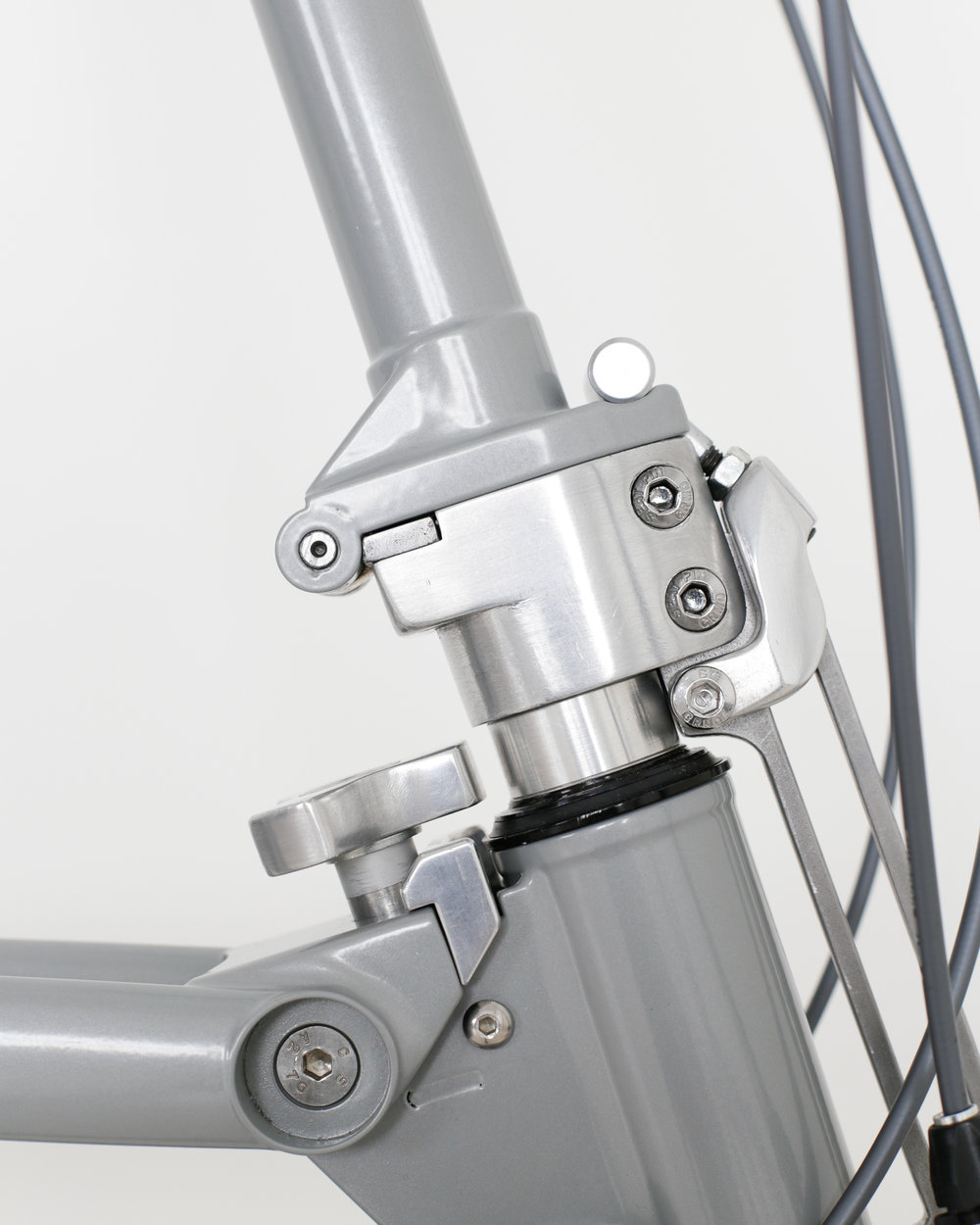 Whippet Bicycle - safety lock detail