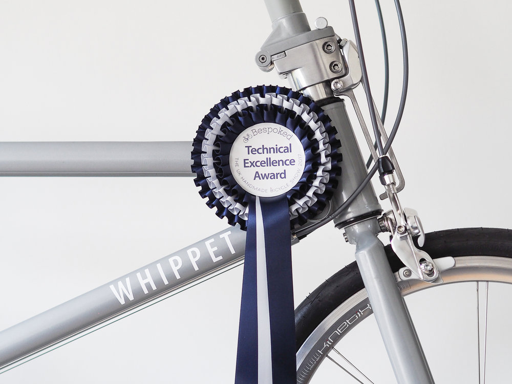 Technical Excellence Award Whippet Bicycle | Bespoked 2017