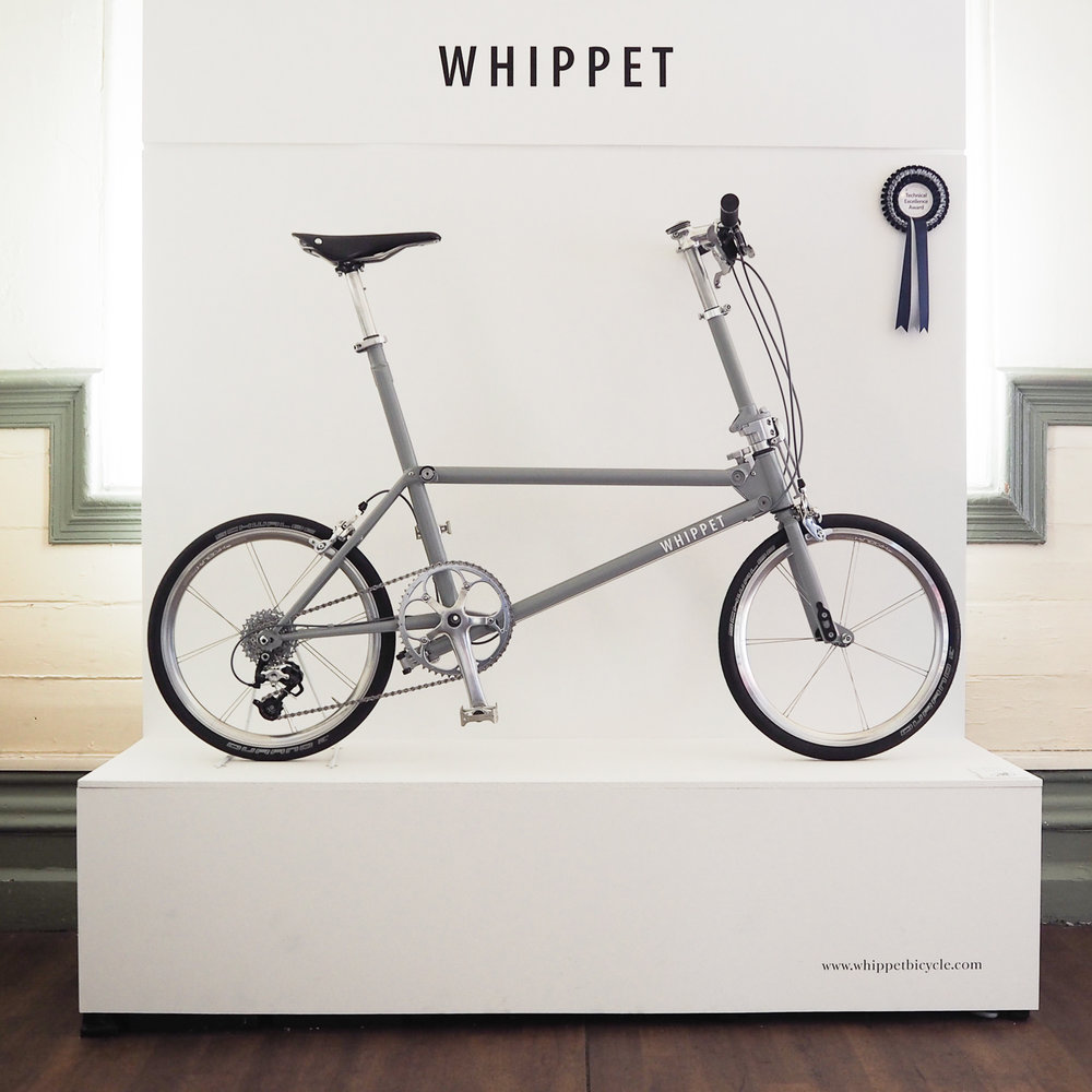 Whippet Bicycle - a new British folding bicycle | Bespoked 2017