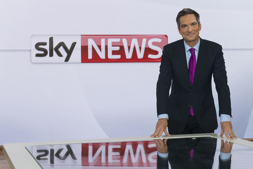 Sky Sunrise presenter Jonathan Samuels