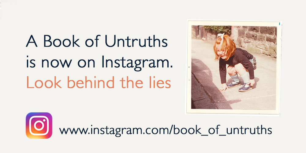 Click to view the Book of Untruths Instagram account