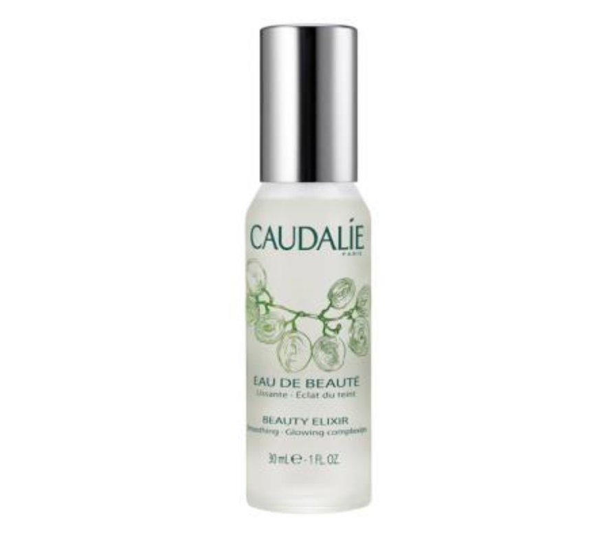 Caudalie Beauty Elixir - This cult beauty product has numerous benefits, but I love the lightweight mist because it reduces dullness and provides instant hydration for dry skin. Perfect for long flights! It's full of essential oils giving it a therapeutic scent great for a mid-day pick-me-up.