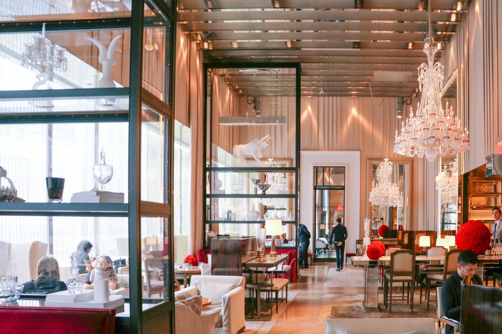 Hotel Review by Courtney Brown: Baccarat Hotel in Manhattan