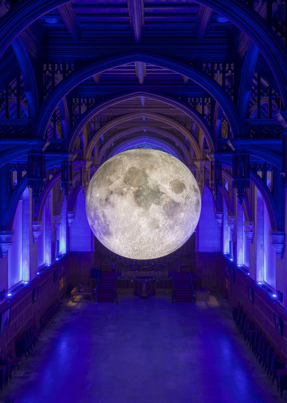 LUKE JERRAM: MUSEUM OF THE MOON 11 May - 24 June  // Mackintosh Cross