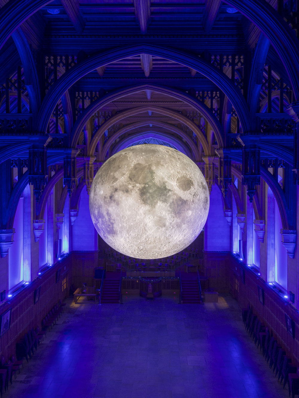 LUKE JERRAM:  MUSEUM OF THE MOON  11 May - 24 June // Mackintosh Queens Cross Church