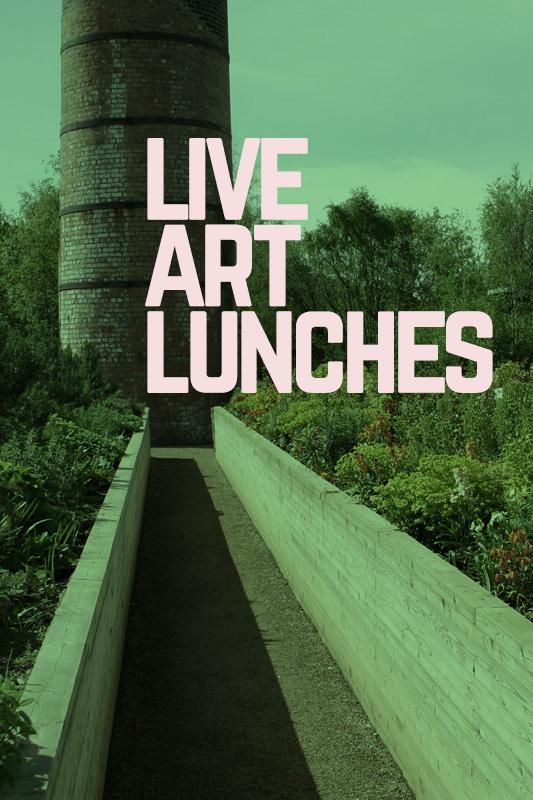 LIVE ART LUNCHES - Sun 12 & Sat 25 May // Bolierhouse @ The Hidden Gardens