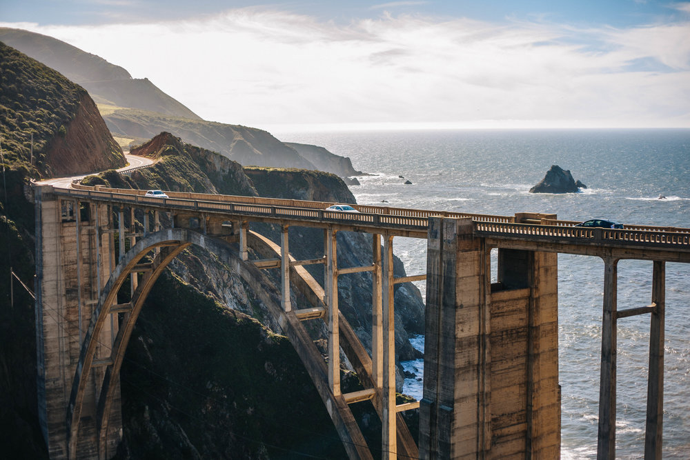 Typical Bixby Bridge picture