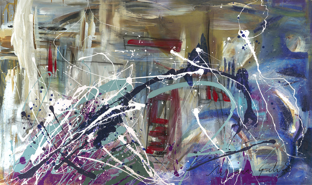 Whistling In The Wind - 36x60 in