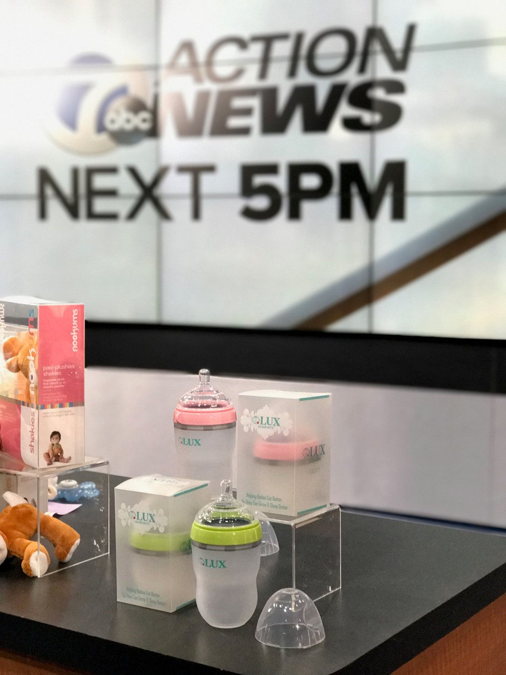 Lux baby bottle featured on ABC News Best of Baby 2017