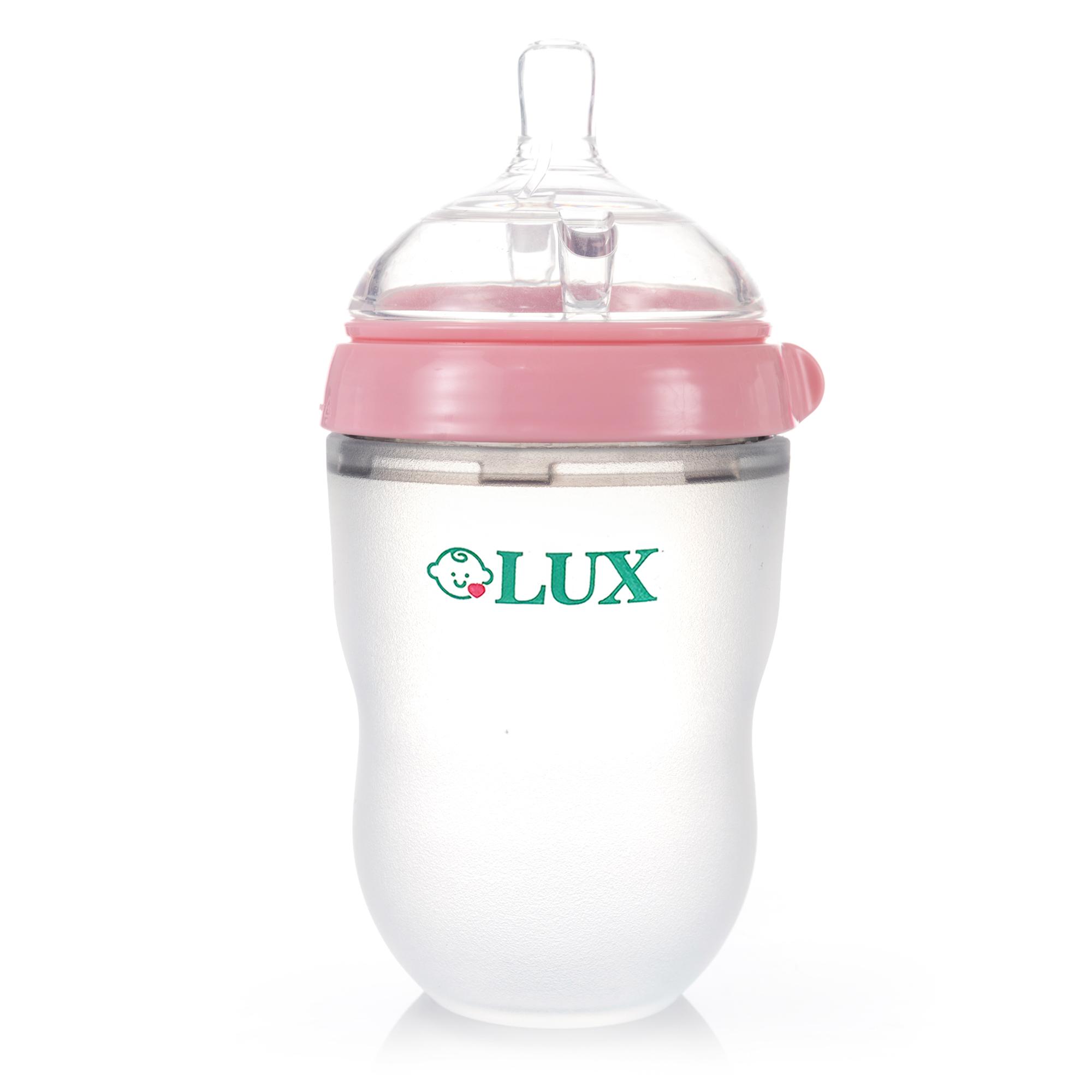 b0fa5b32e LUX Silicone Baby Bottle