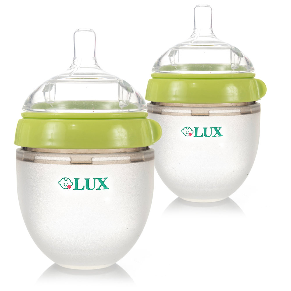 LUX Baby Bottle (5 oz)-2 Green  sc 1 st  LUX Silicone Baby Bottle & LUX Baby Bottle (5 oz)-2 Green