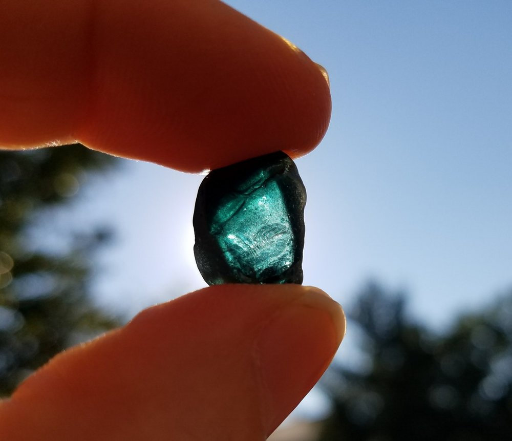 Double-blue aquamarine!