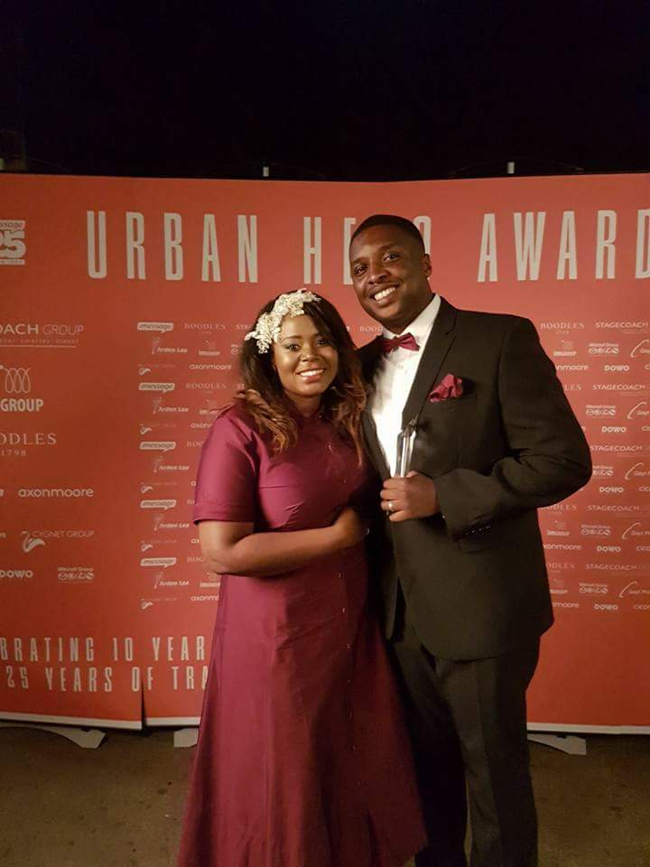 Urban Hero Award of the Decade.. Congrats Pastor Mo
