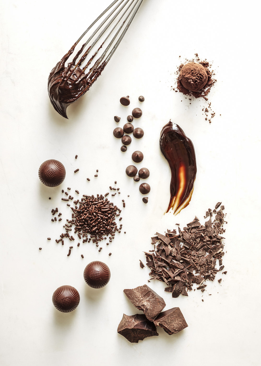 Chocolate Still Life: Food Stylist Assistant