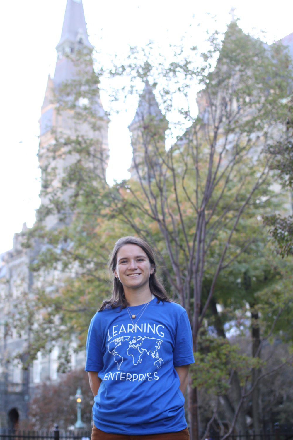 Maure Buckley - Poland Maure is a junior at George Washington University studying International Affairs with a concentration in International Environmental Studies. Her family has lived in Virginia since she was 15, but growing up she lived all over the US and spent some time in Europe as well. She volunteered in Poland this past summer and had an amazing time! Maure can't wait to work more with LE and find some more great volunteers for summer 2017! Reach out to Maure: poland@learningenterprises.org