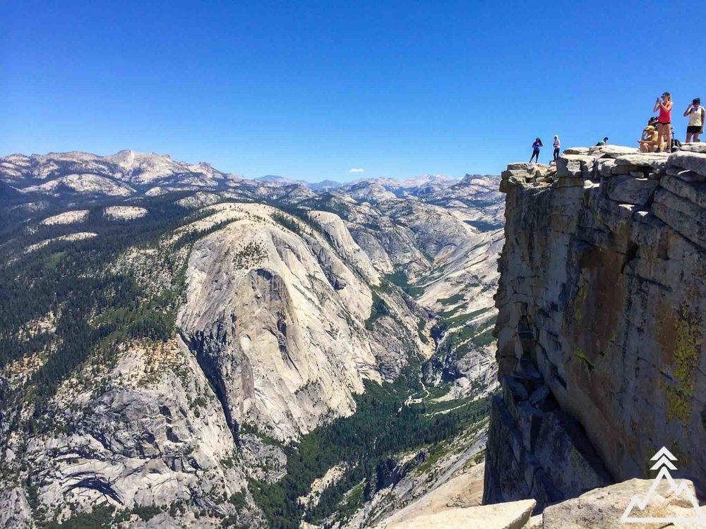 Half Dome summit
