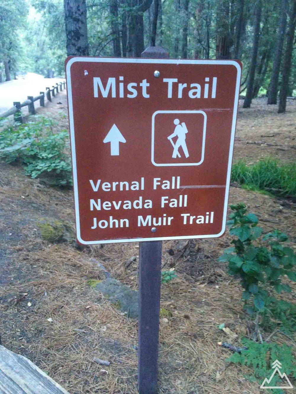 Mist Trail, Yosemite