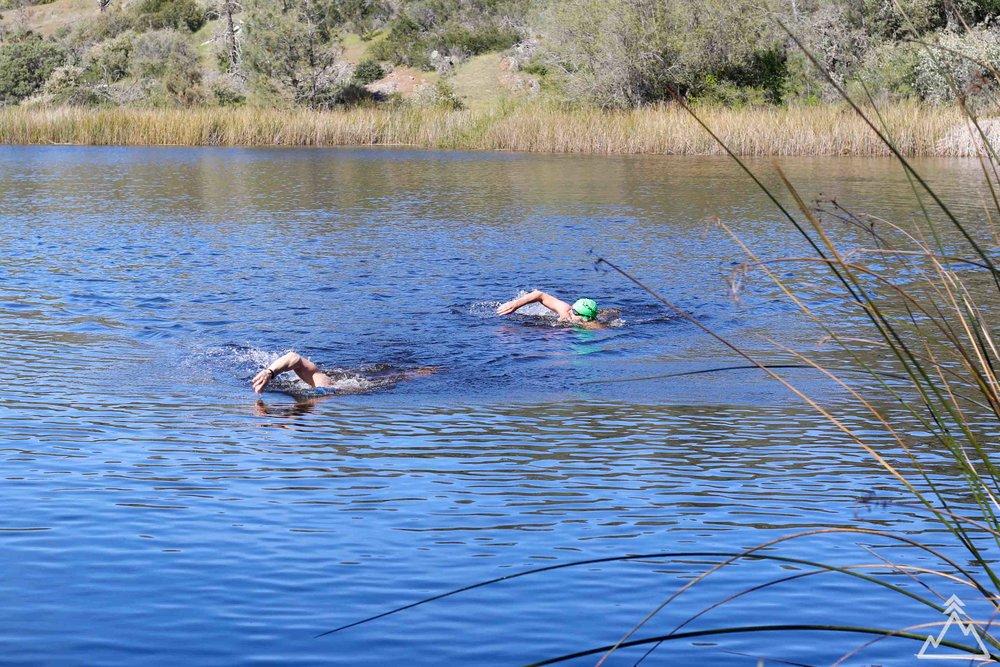Coit Lake Swimming