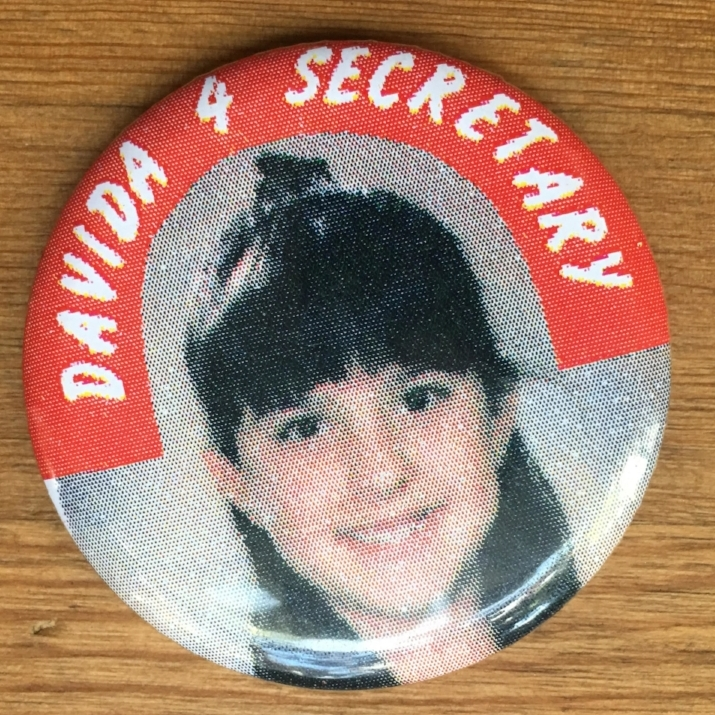 Vote Davida for Secretary! (and Ballsy Babe of Yore ;) )