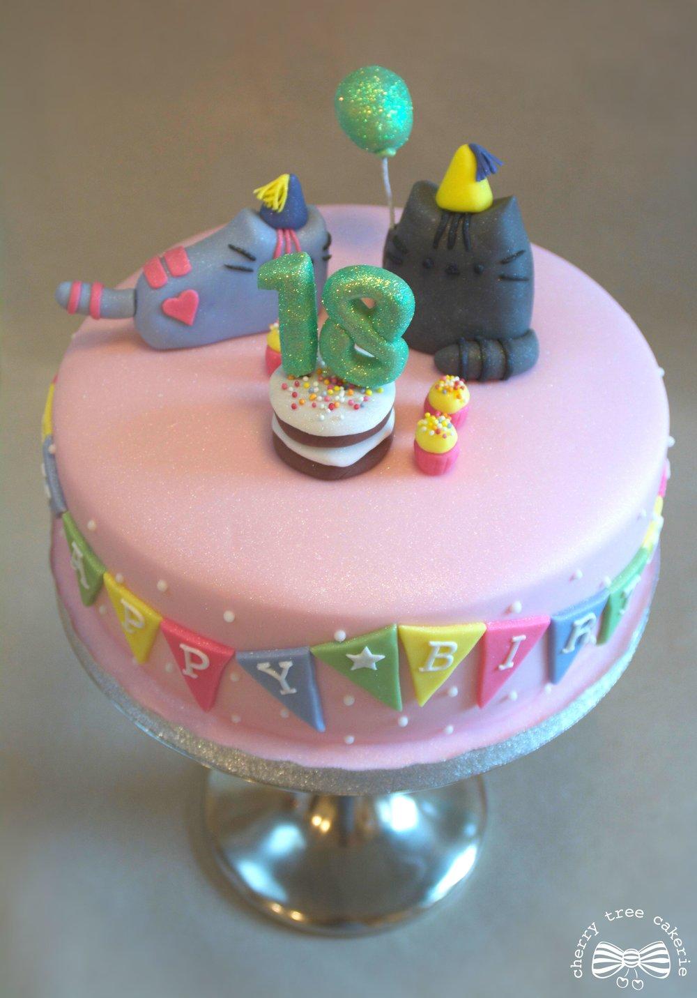 pusheen-cat-birthday-cake