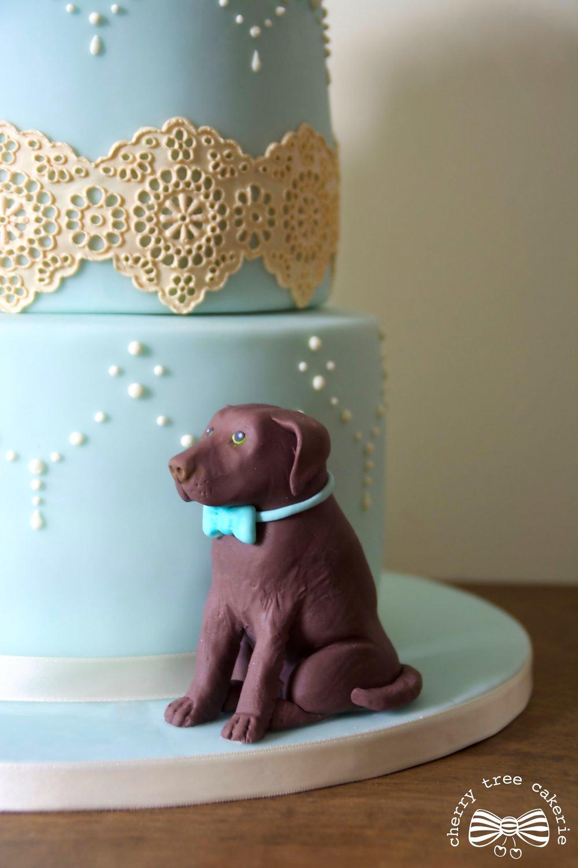 Labrador-wedding-cake-topper