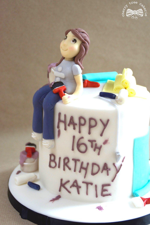 DIY-decorator's-birthday-cake