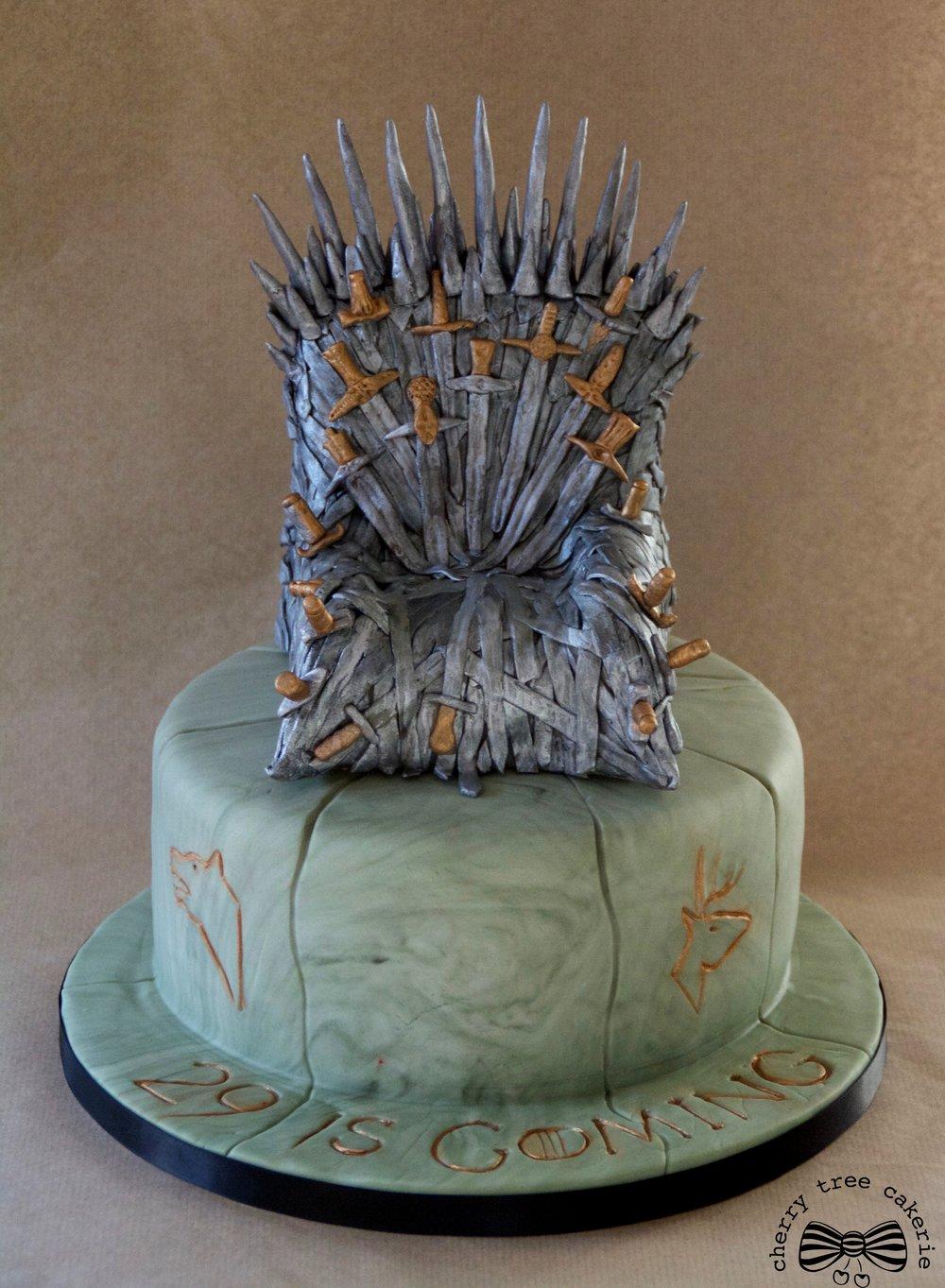 Game-of-Thrones-Iron-Chair-birthday-cake