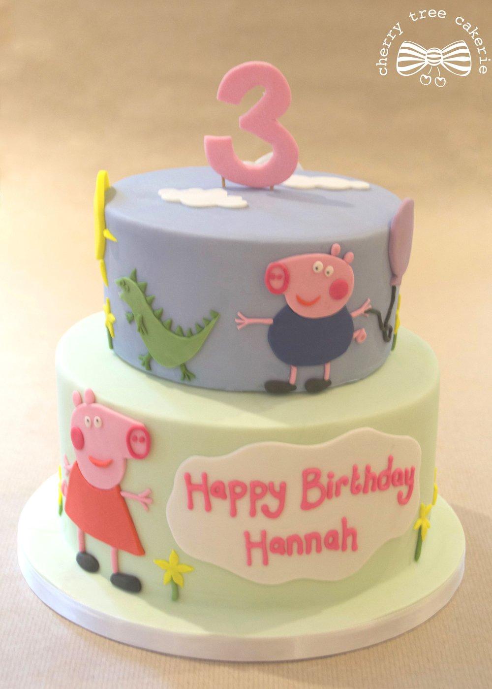 peppa-pig-and-george-birthday-cake